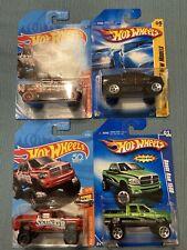Hot Wheels Dodge Ram 1500 x4 Lot 1 New