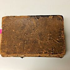 1852 Antique Religious Book, Hymns