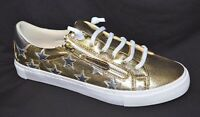 TS shoes TAKING SHAPE sz 8 / 39 Hollywood Star Sneakers wide fit gold/silver NIB