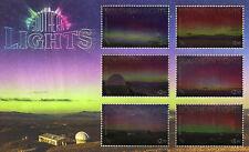 New Zealand NZ 2017 MNH Southern Lights 6v M/S Light Science Stamps