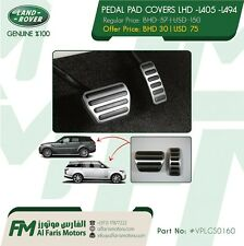 PEDAL COVERS LHD - RANGE ROVER L405 - SPORT L494 & DISCOVERY 5 (VPLGS0160) OEM