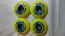 Labeda Gripper 68mm Med Inline Skate Wheel Yellow 4 wheels new w/o box