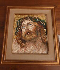 Quadro a mosaico Cristo