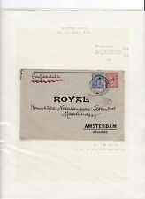 British Post Office in Constantinople 1919 Royal Amsterdam cover