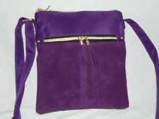 Crossbody Pouch Bag Purple from Asian Trade Links France NEW