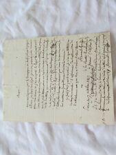 LETTRE DE ARMAND GOUFFE DU 7 OCTOBRE 1827 A MR PRIN CORRESPONDANT DRAMATIQUE