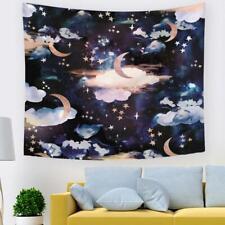 3D Moon Stars A279 Tapestry Hanging Cloth Hang Wallpaper Mural Photo Zoe