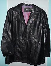 Coolwear Outerwear, 3X Women's Faux Leather Jacket, w/Angel Pin on Lapel
