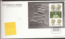 GB FDC 2000 Her majesty's stamps m/s
