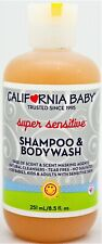 California Baby Super Sensitive Shampoo & Body Wash Fragrance & Tear Free 8.5oz