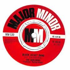 """The Dubliners - Black Velvet Band - 7"""" Record Single"""