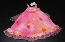 NWT Indygo Artwear Painted Pink Roses Princess Fairy Dress Tulle Dress 2T 2 3 3T