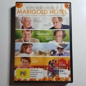 The Best Exotic Marigold Hotel | DVD Movie | 2011 | Judi Dench, Bill Nighy | PAL