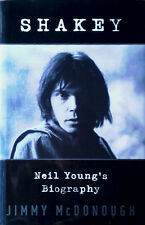 NEIL YOUNG - SHAKEY - JIMMY McDONOUGH - 788 PAGE HARDBACK - RANDOM HOUSE CANADA