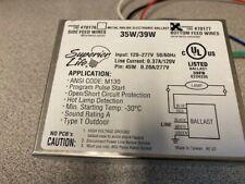 Superior LIfe 35W/39W Metal Halide Electronic Ballast (70177)