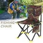330lbs Heavy Duty Portable Folding Fishing Camping Chair Outdoor w/ Carrying Bag