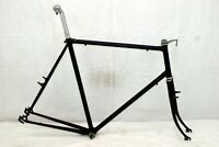 Fuji Vintage Touring Road Bike Frame 64cm X-Large Fork BB Lugged Steel Charity!