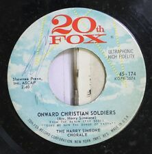 Soundtrack Sing We Now The Song Of Faith 45 The Harry Simeone Chorale - Onward C