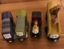 2000 BRIO Wooden Thomas Train Magic Railroad Lot Lady,Diesel 10,Dodge,Splatter