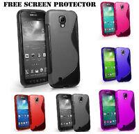 S-LINE TPU Silicone Gel Case Cover For Samsung Galaxy S4 i9500 / S4 mini i9190