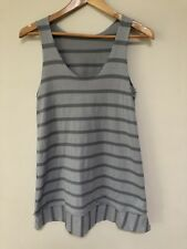 Metalicus grey stripy top - One Size - As new