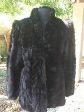 CHOCOLATE BROWN MINK PD FURS GORGEOUS JACKET SMALL  Wedding