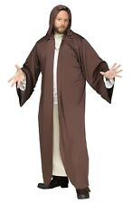 HOODED ROBE BROWN MONK COSTUME JESUS