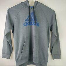 adidas Men's Logo Charcoal Gray Hooded Sweatshirt Sz XL  Hoodie A1