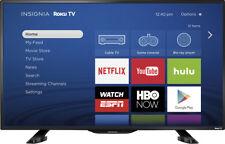 """Insignia- 39"""" Class (38.5"""" Diag.) - LED - 1080p - Smart - HDTV Roku TV"""