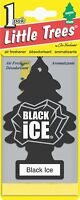 Little Trees Hanging Car and Home Air Freshener, Black Ice