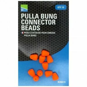 .PRESTON INNOVATIONS PULLA BUNG CONNECTOR BEADS SIDE PULLER BEADS