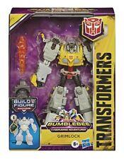 Transformers Bumblebee Cyberverse Adventures Deluxe Class Grimlock BAF Maccadam