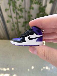 Jordan 1 Court Purple 1.0 Mini Trainers