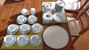 Thomas Tee + Kaffeeservice mit reichhaltigem Zubehör