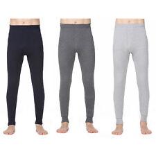 Mens Thermique Chaud Caleçon Long Legging Sous-vêtement Couche De Base Bas Hiver