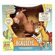 "Toy Story Collection Woody Woody's Roundup Horse Bullseye Sound 16"" talking PVC"