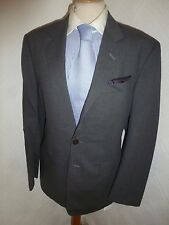 MENS PAUL SMITH ITALY GREY SUMMER PROM WOOL SUIT JACKET 38 R WAIST 32 LEG 31.5