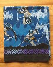 Vintage DC Comics Multi-Color Batman Action Poses Cotton Blend Full Sheet