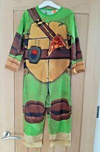 Teenage Mutant Ninja Turtles TMNT Costume & Eye Masks Age 6-7 Years