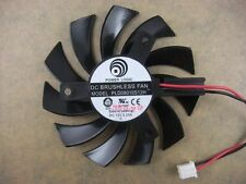 75mm VGA Video Card Fan Replacement  PLD08010S12H 40mm 2Pin 0.25A 290-1