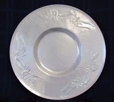 Original Vintage Everlast Forged Aluminum Decorative Plate - 14.5 x 14.5 Inches