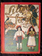 Liline et Frérot au pays des joujoux Montorgueil Job EO 1903 Très rare