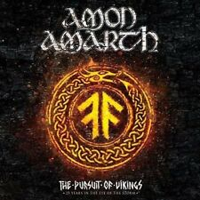 AMON AMARTH  The Pursuit Of Vikings  CD+ 2 DVD SET BRAND NEW