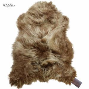 WOOOL Icelanic Sheepskin XL | Brown | Soft | 100% ECO and Genuine | Soft Rug