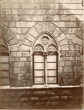 Italie, Sienne, Siena, palazzo Piccolomini o delle Papesse Vintage albumen print