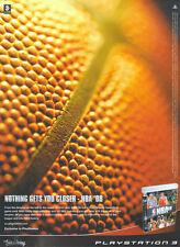 "NBA 08  ""Playstation 3"" 2008 Magazine Advert #4631"