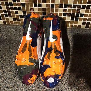 Nike Vapor Untouchable Elite 3 Football Cleats Camo AV5358-100 Men's Size 11.5