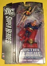 JLU 3-Pack DEMON ETRIGAN Superman WONDER WOMAN Justice League figures DC Mattel