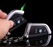 Limited Edition BMW Jet Flame Key Ring Gas  Lighter Windproof U.K. Seller