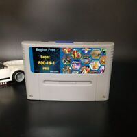 Pro Video 16Bit Game For SNES Cartridge Card USA/EUR 800 In 1 Super Consoles 8G